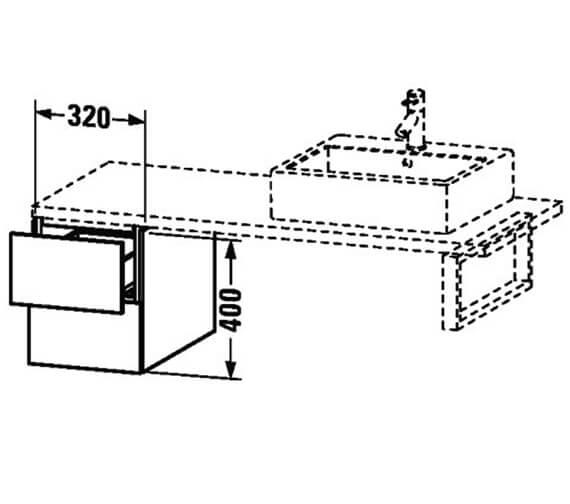 Technical drawing QS-V63405 / LC687401818
