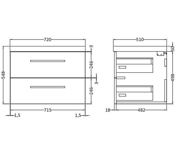Technical drawing QS-V95121 / QUA005