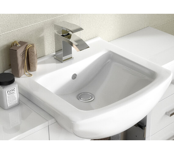Additional image of Nuie Premier Mayford 450mm Floor Standing Cabinet With Basin