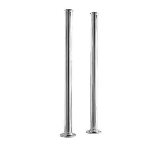Hudson Reed Standpipes 660mm Freestanding Legs Chrome