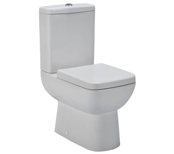 Nuie Pick And Mix 585mm Compact Semi Flush To Wall Pan With Cistern And Seat
