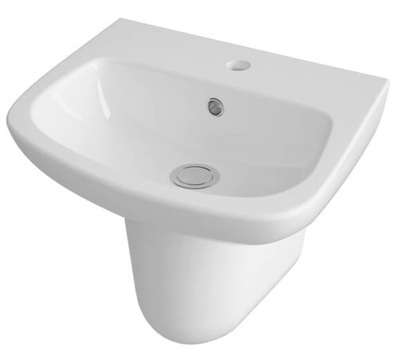 Additional image of Premier Ambrose Pick And Mix 450mm 1 Tap Hole Basin