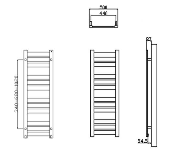 Technical drawing QS-V20751 / RND-RV5062
