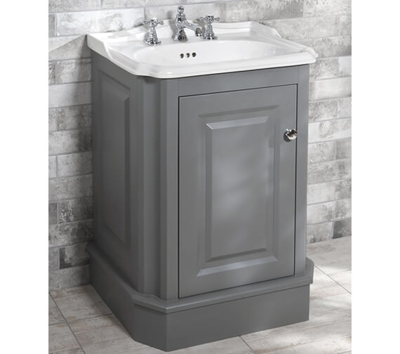 Silverdale Balasani 600mm Unit And 3 Tap Holes Basin