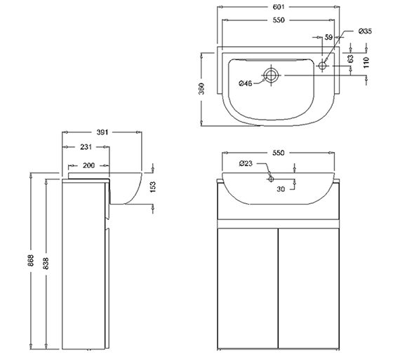 Technical drawing QS-V80794 / ACM5W