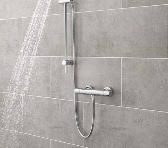 Nuie Premier Cool Touch Thermostatic Bar Shower Valve