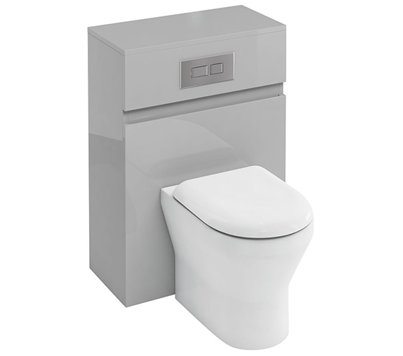 Additional image of Britton Compact 600mm Back To Wall White WC Unit With Cistern