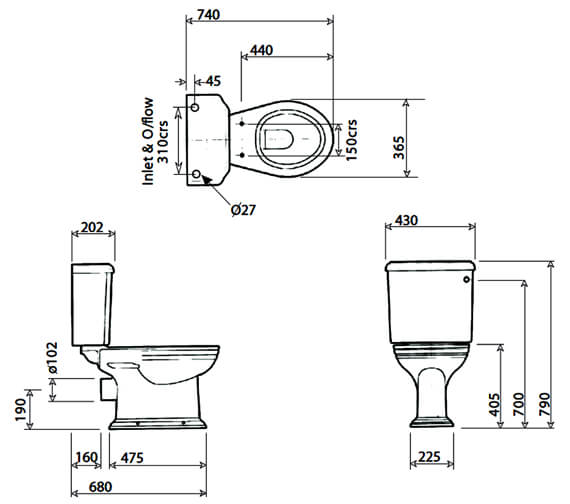 Technical drawing QS-V4259 / VCCLOCC6WHIBP