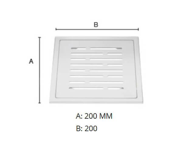 Technical drawing QS-V80858 / FK506