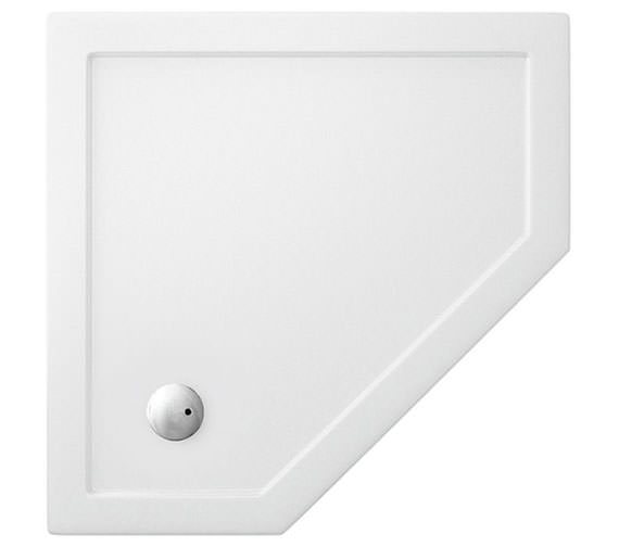 Simpsons Pentagon Low Profile Acrylic Shower Tray