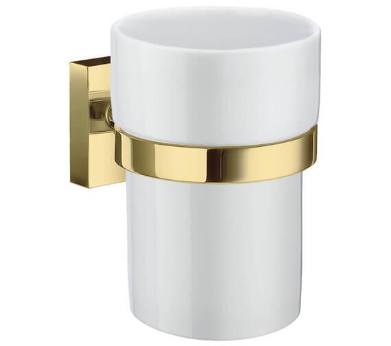 Alternate image of Smedbo House Holder With Porcelain Tumbler