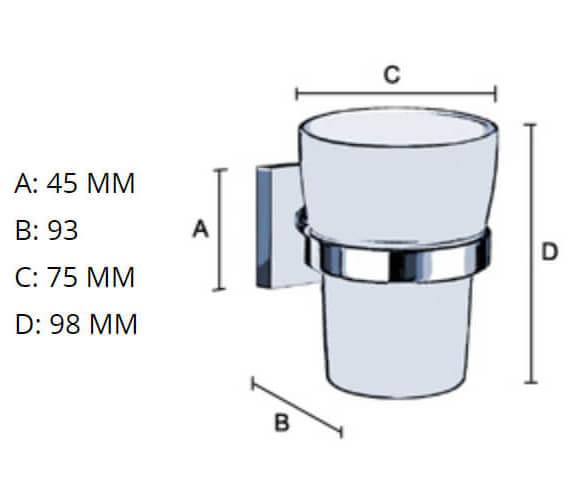 Technical drawing QS-V80863 / RK343P