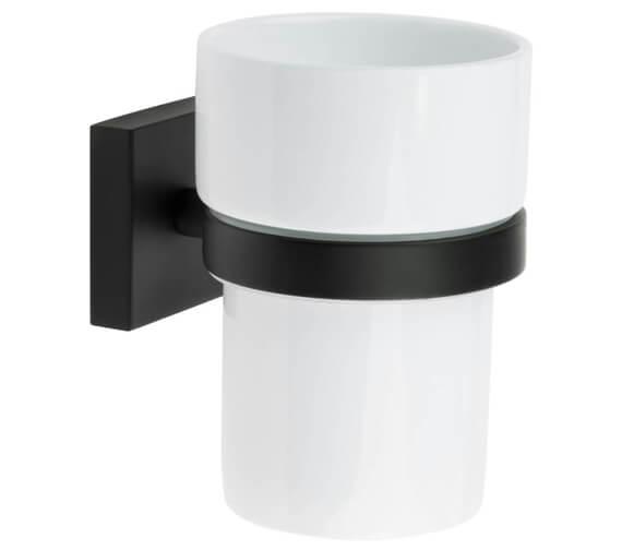 Additional image of Smedbo House Holder With Porcelain Tumbler