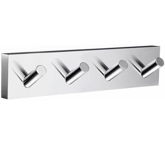 Smedbo House Polished Chrome Quadruple Hook