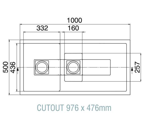 Technical drawing QS-V89355 / SM15RZHOMESK
