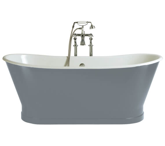 Heritage Madeira Freestanding Cast Iron Double Ended Bath - BRT76