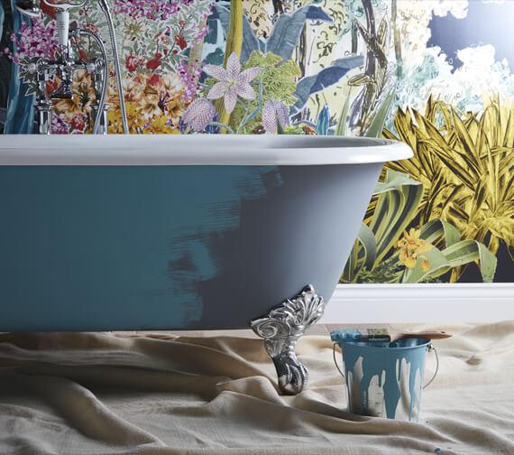 Alternate image of Heritage Buckingham Freestanding Cast Iron Roll Top Bath With Feet