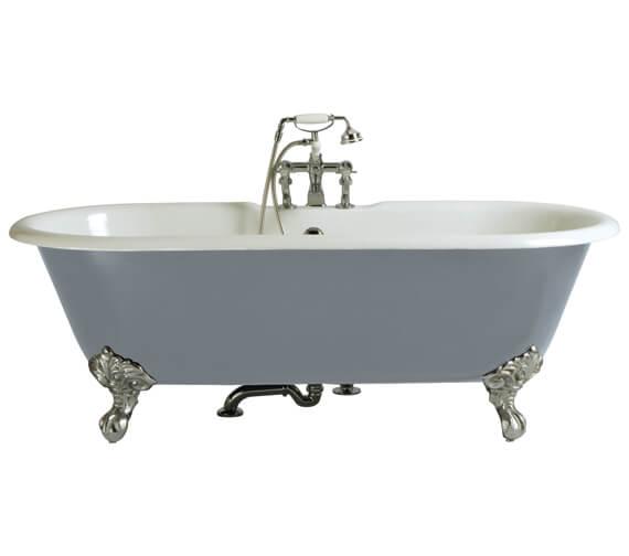 Heritage Buckingham Freestanding Cast Iron Roll Top Bath With Feet