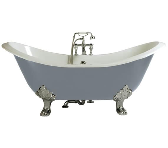 Heritage Devon 1800 x 770mm Cast Iron Bath With Feet