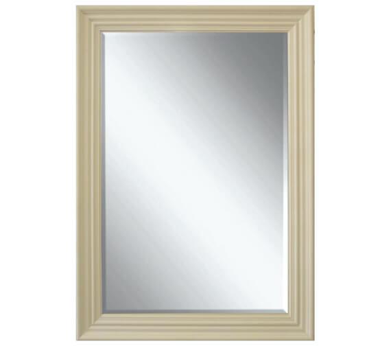 Heritage Edgeware Cream Wooden Framed Mirror 660 x 910mm