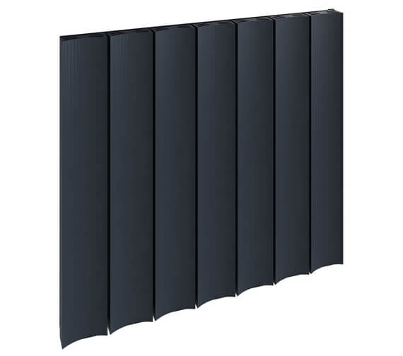 Alternate image of Reina Luca 600mm High Single Panel Horizontal Aluminium Radiator