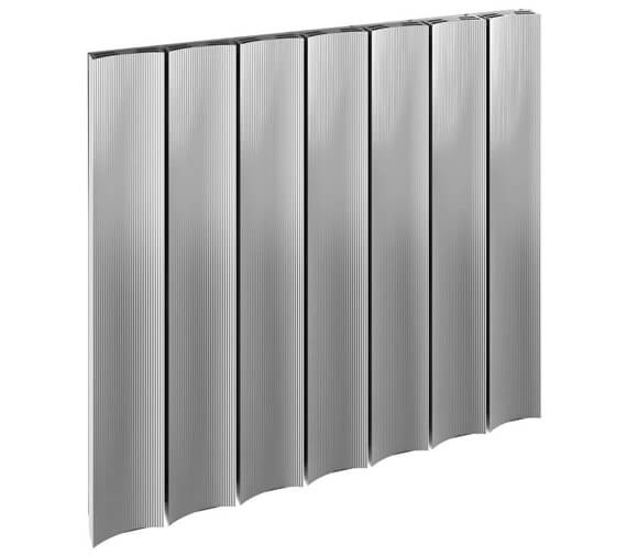 Reina Luca 600mm High Single Panel Horizontal Aluminium Radiator