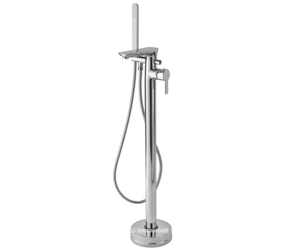 Tre Mercati Balena Floor Mounted Bath Shower Mixer Tap With Kit