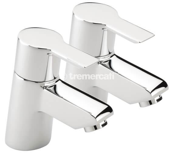 Tre Mercati Angle Pair Of Bath Tap