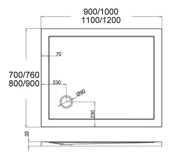 Technical drawing QS-V22748 /  ST00R8900
