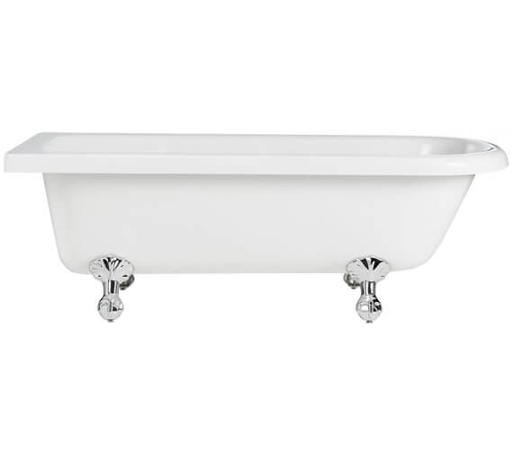 Heritage Tilbury 1680 x 720mm Corner Freestanding Acrylic Bath