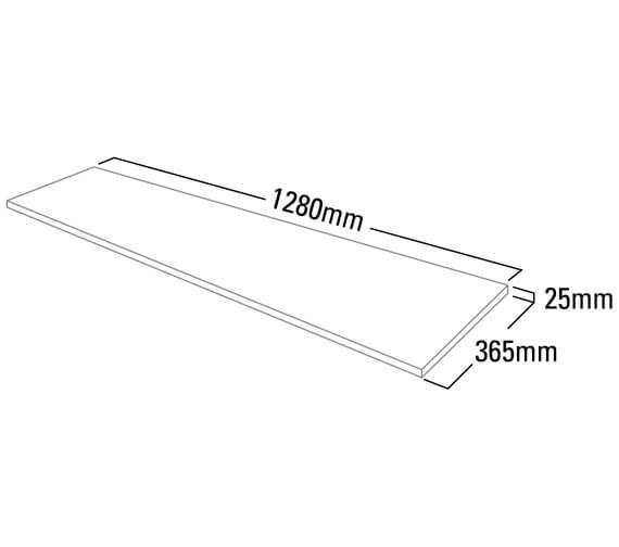 Technical drawing QS-V25400 / F3W12A.AR