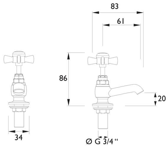 Technical drawing QS-V54869 / TDCCS00