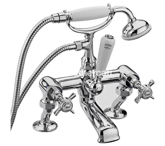 Tre Mercati Imperial Bath Shower Mixer Tap With Kit Chrome - 1075