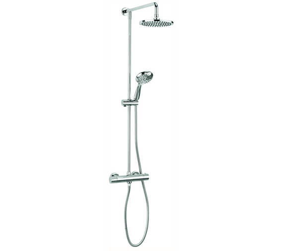Crosswater Fusion Multifunction Thermostatic Shower Valve With Shower Kit