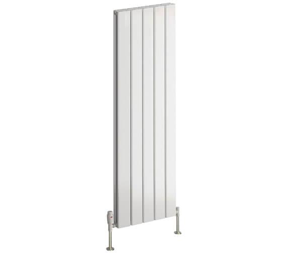 Reina Stadia 1800mm High Double Panel Vertical Radiator White