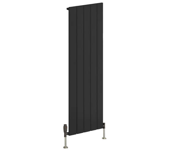Alternate image of Reina Stadia 1800mm High Single Panel Vertical Radiator White