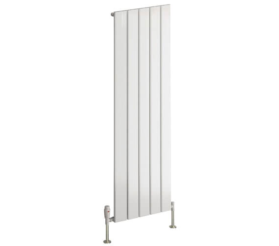Reina Stadia 1800mm High Single Panel Vertical Radiator White