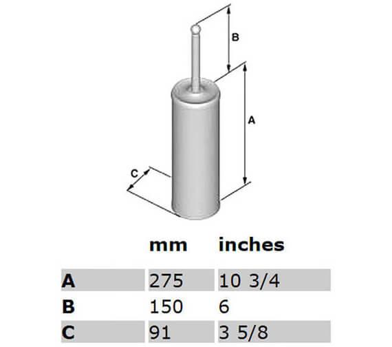 Technical drawing QS-V23884 / K233