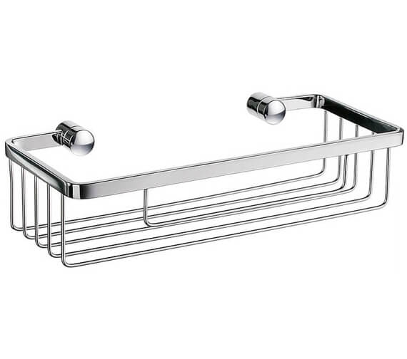 Smedbo Sideline Polished Chrome Soap Basket
