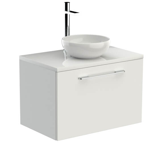 Saneux Austen 710mm 1 Drawer Unit With Worktop And Basin