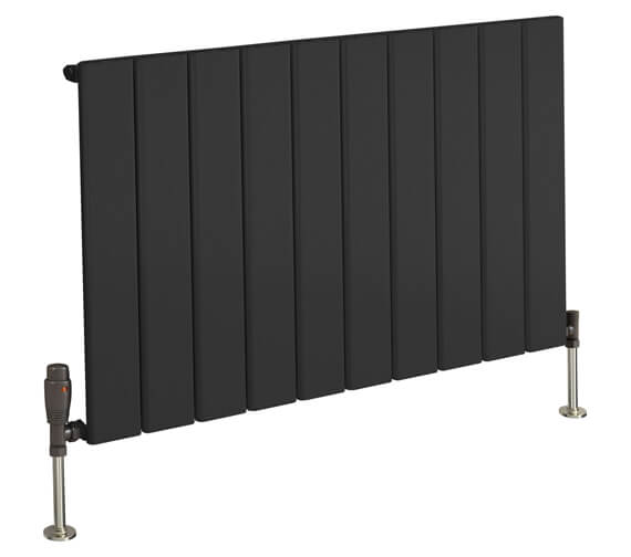 Reina Stadia 600mm High Single Panel Horizontal Radiator Anthracite