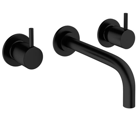 Additional image of Crosswater MPRO 3 Hole Wall Mounted Basin Mixer Tap