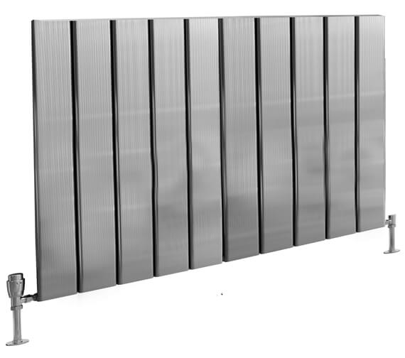 Alternate image of Reina Stadia 600mm High Single Panel Horizontal Radiator Anthracite
