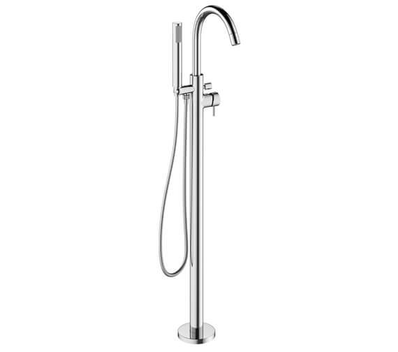 Crosswater MPRO Floor Standing Bath Shower Mixer Tap With Kit