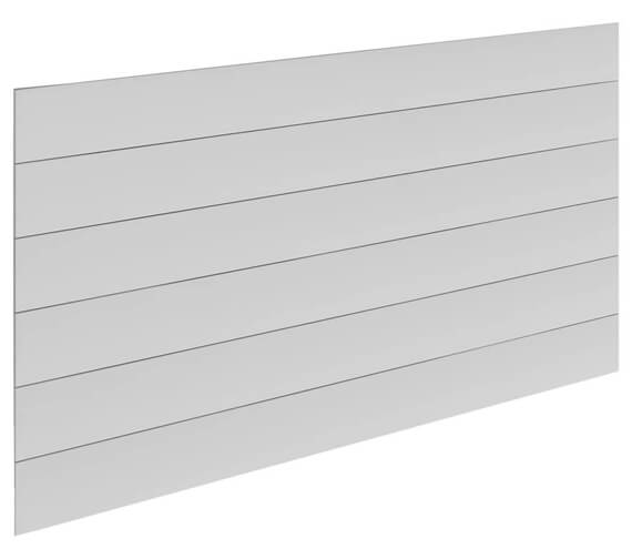 Reina Veno 600 x 605mm White Single Panel Horizontal Radiator - More Width Sizes Available
