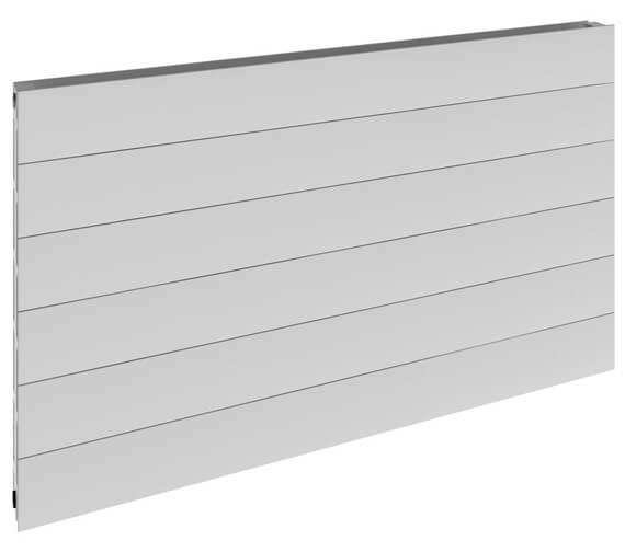 Reina Veno 600 x 605mm White Double Panel Horizontal Radiator - More Width Sizes Available