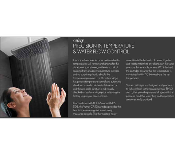 Alternate image of Crosswater MPRO Thermostatic Bath Shower Valve With 2 Way Diverter