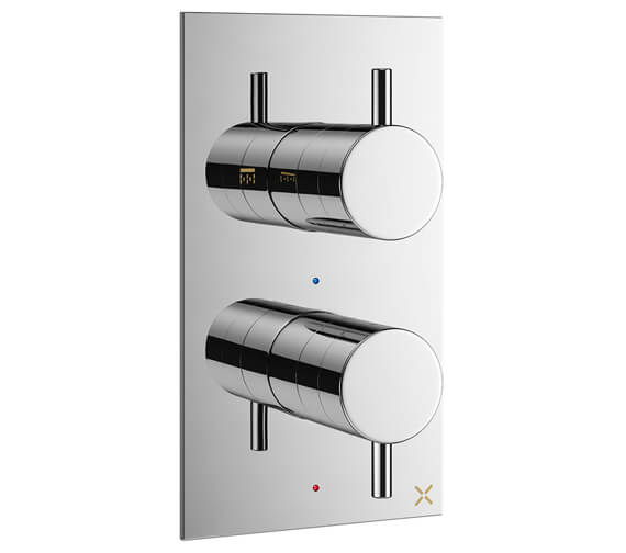 Crosswater MPRO Portrait Thermostatic Shower Valve With 2 Way Diverter