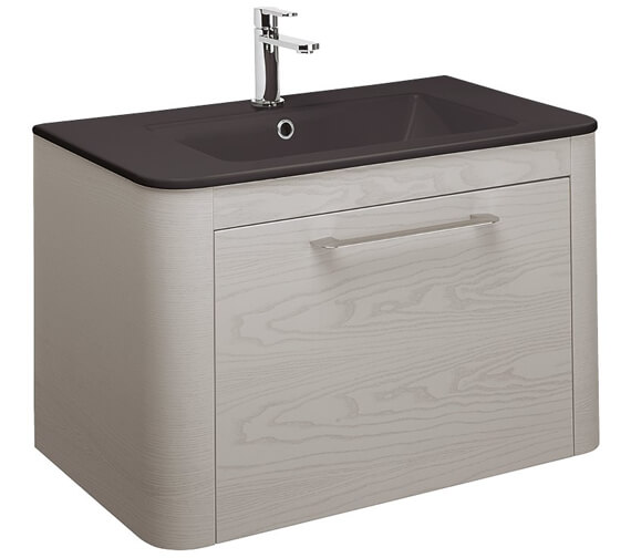Alternate image of Bauhaus Celeste Single Drawer Unit 800mm White Gloss