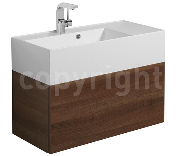 Additional image of Bauhaus Elite 700mm Single Drawer Basin Unit